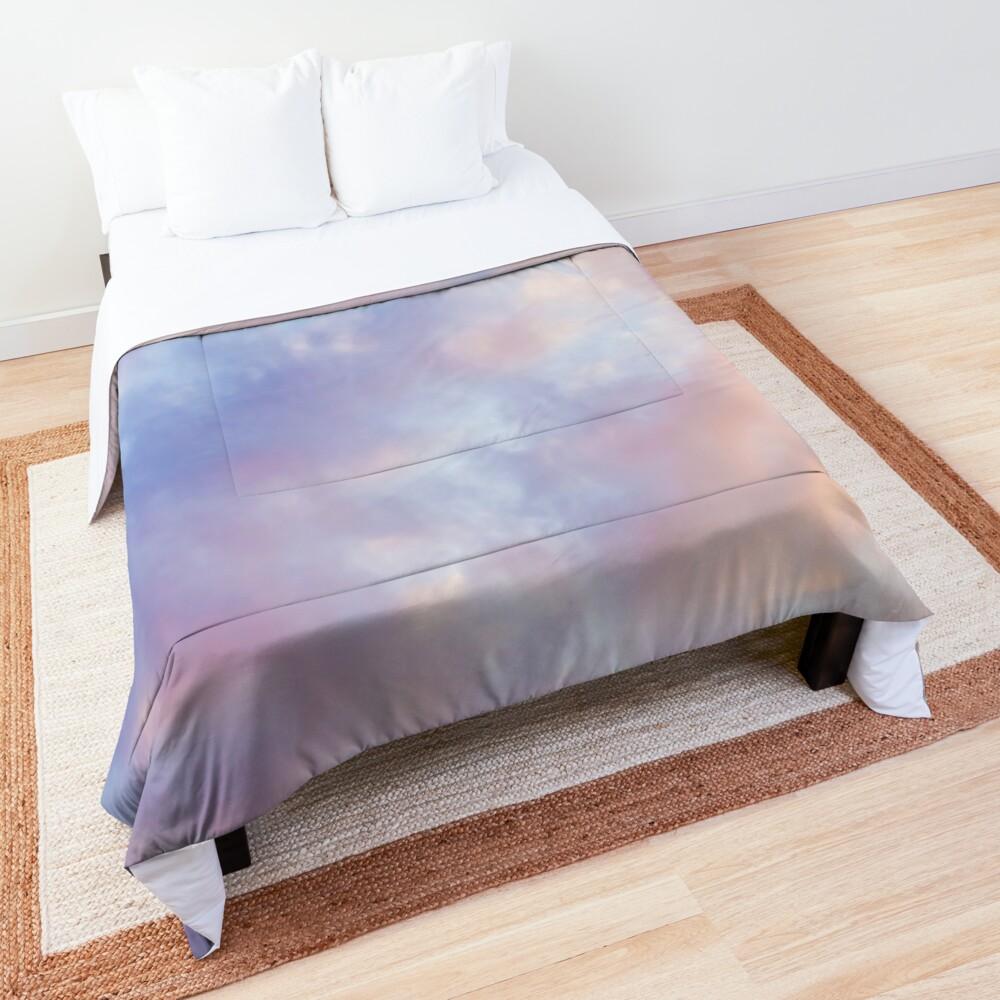 Pink sky Comforter