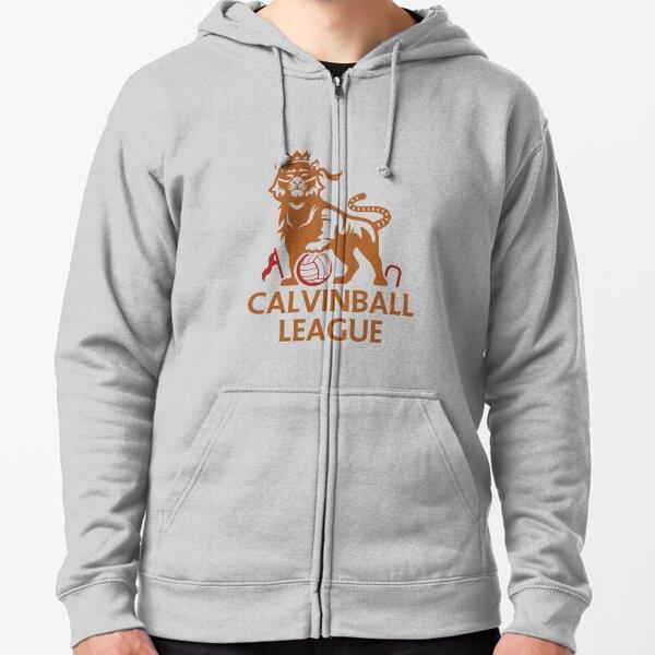 Calvinball League Zipped Hoodie
