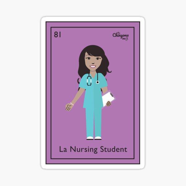 La Nursing Studen Pegatina