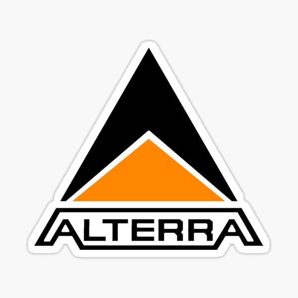 Alterra Logo (Transparent Background) Sticker