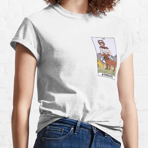 Midsommar Tarot Card Strength (Color) Classic T-Shirt