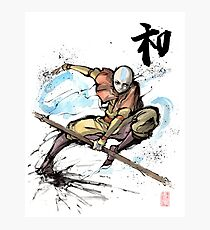 Aang from Avatar TV series Photographic Print