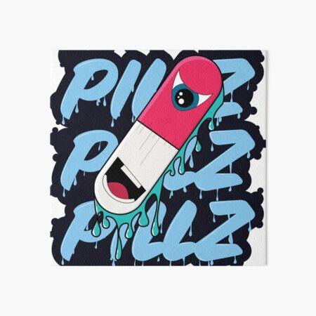 Pillz! Art Board Print