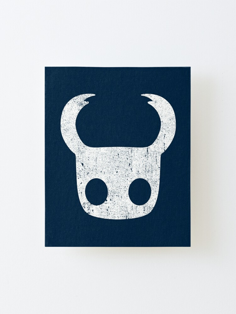 Alternate view of Hollow Knight Mounted Print