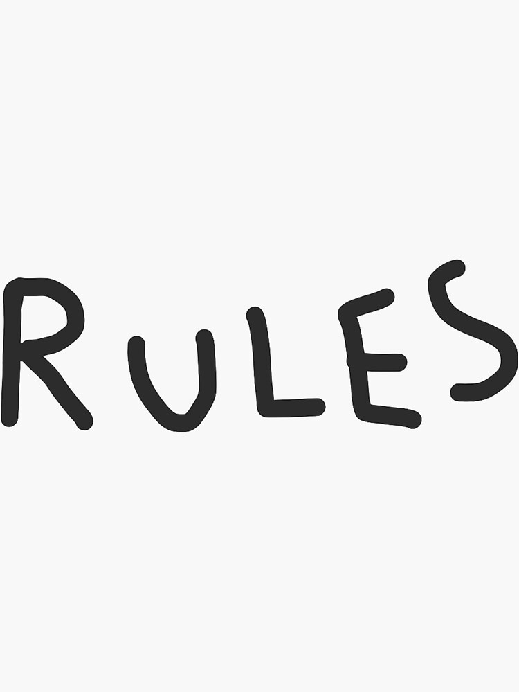 RULES by scorpihoe