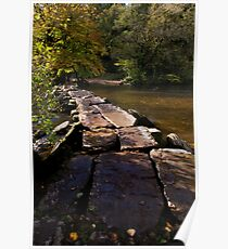 Autumn Collection - Tarr Steps, Exmoor. Poster