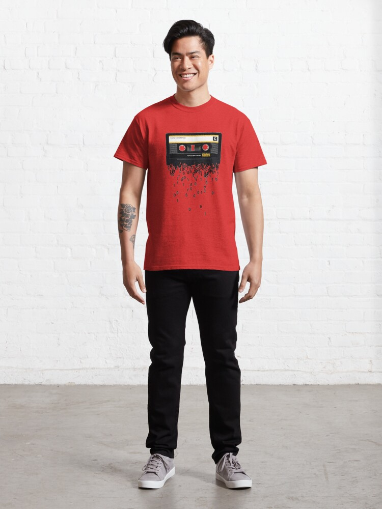 Alternate view of The death of the cassette tape. Classic T-Shirt