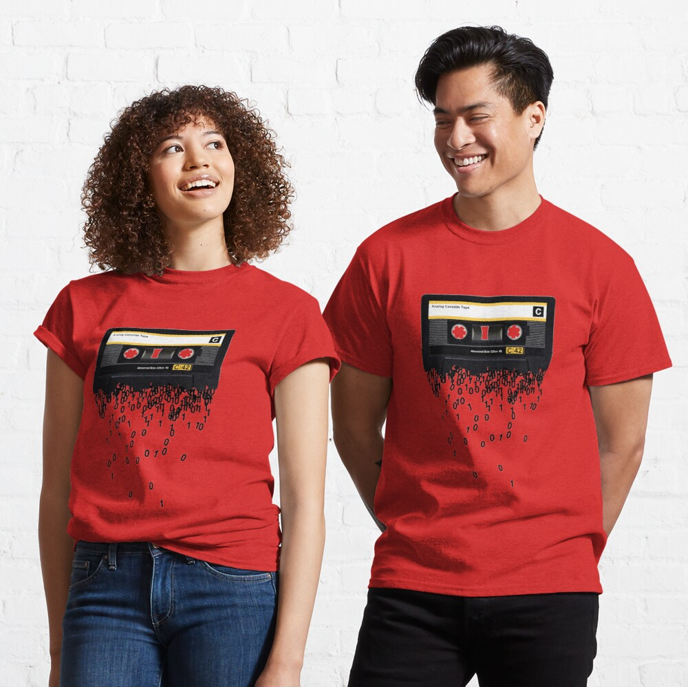The death of the cassette tape. Classic T-Shirt