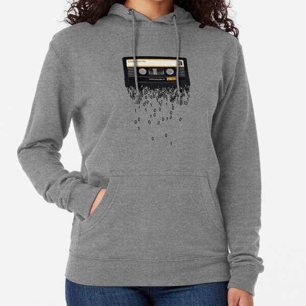 The death of the cassette tape. Lightweight Hoodie