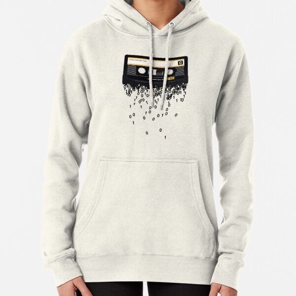 The death of the cassette tape. Pullover Hoodie
