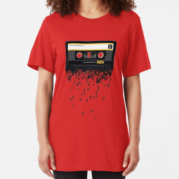 The death of the cassette tape. Slim Fit T-Shirt
