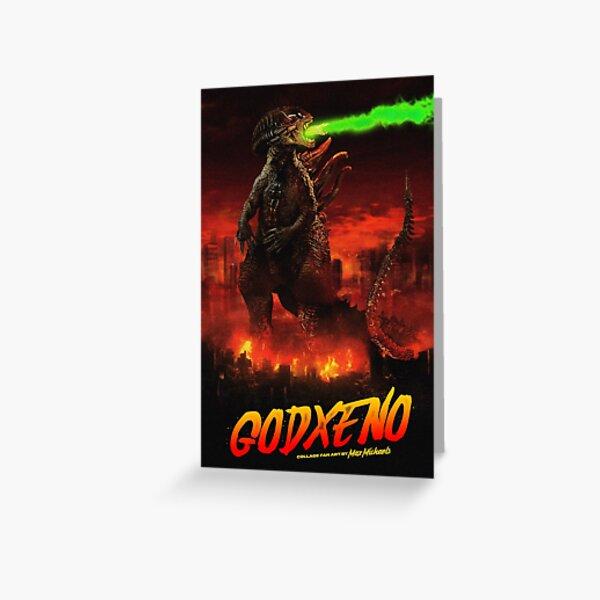 GODXENO Greeting Card