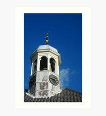 Kerk - Ter Heijde aan Zee Art Print