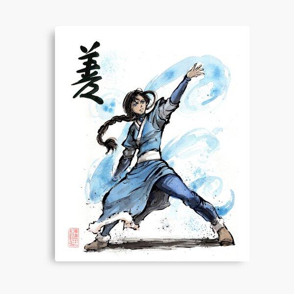 Katara from Avatar TV series Canvas Print