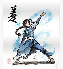 Katara from Avatar TV series Poster