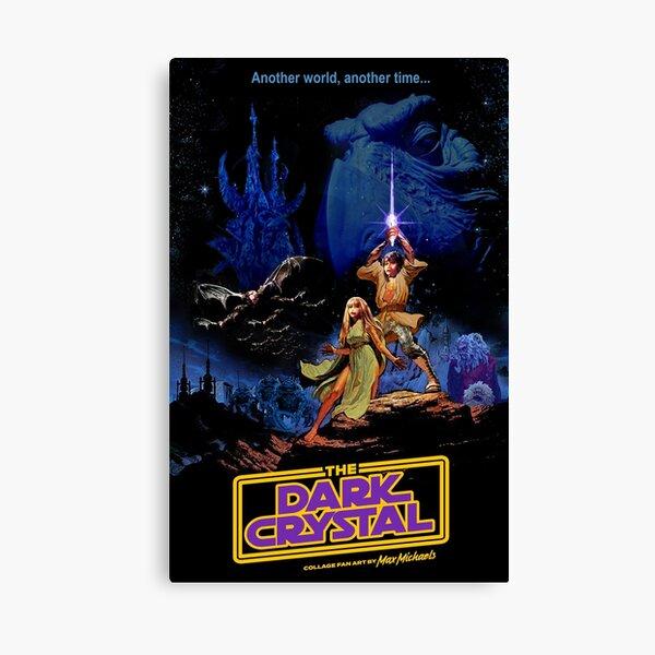 Dark Star Crystal Wars by Max Michaels Canvas Print