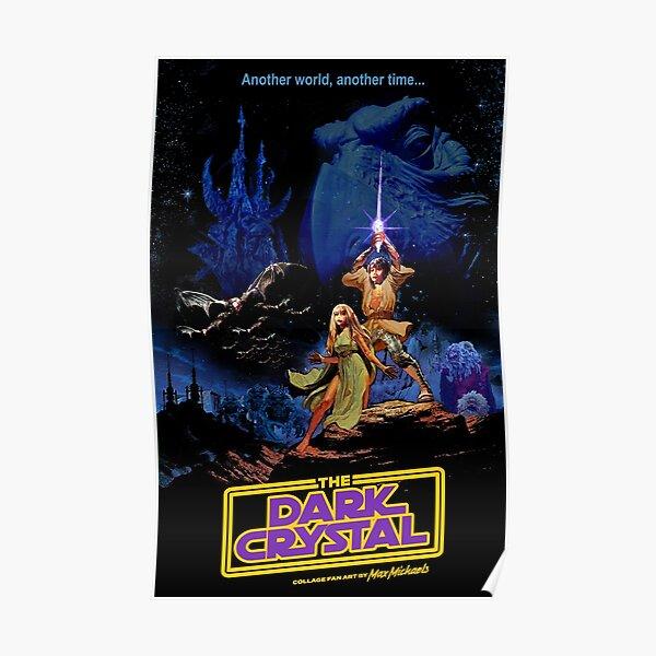 Dark Star Crystal Wars by Max Michaels Poster
