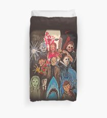 70s/80s Horror Duvet Cover