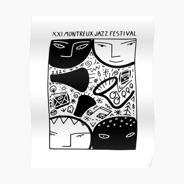 XX1 Montreux Jazz Festival Poster