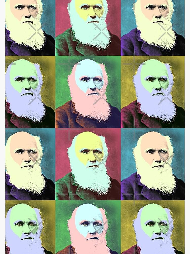 Charles Darwin - Pop Art design by Sagan88