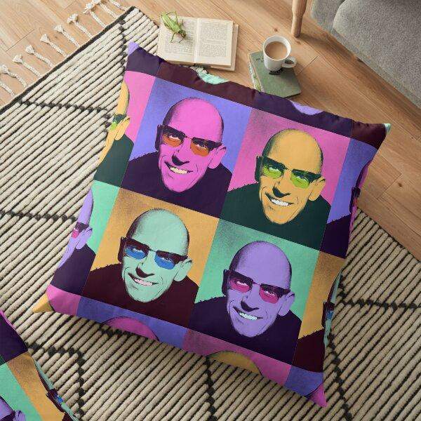 Michel Foucault  - Pop Art design Floor Pillow