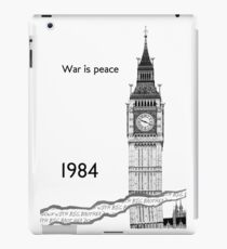 "George Orwell - 1984 - ""War is Peace"" iPad Case/Skin"