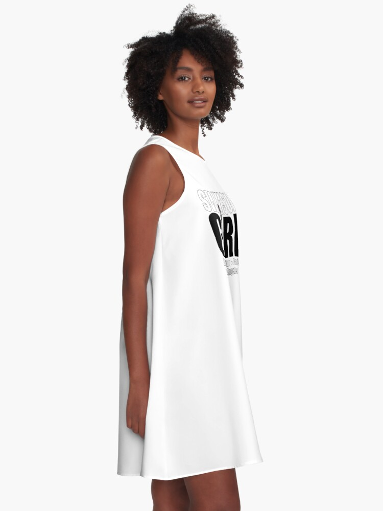Alternate view of Fashion Girl   Swimsuit Girl A-Line Dress