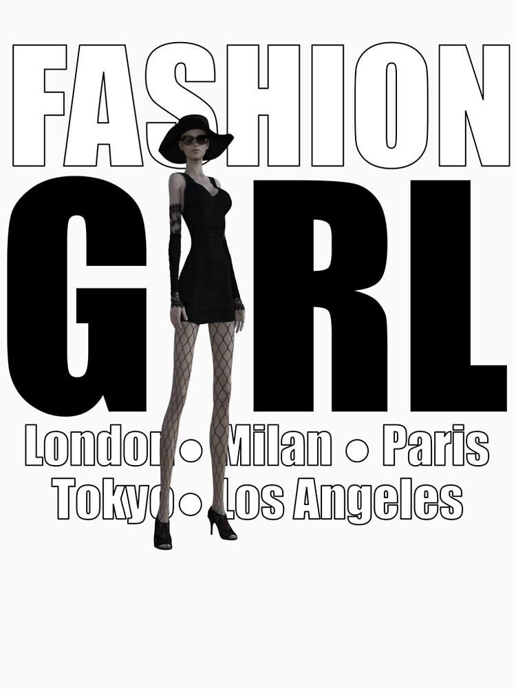 Fashion Girl by andyrenard