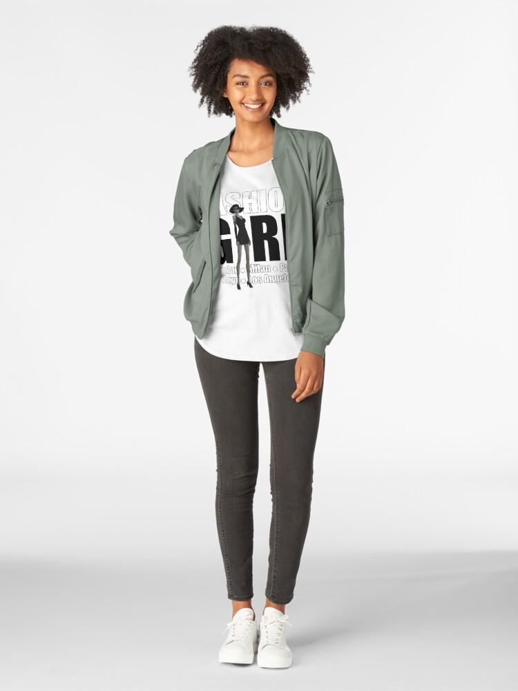 Alternate view of Fashion Girl Premium Scoop T-Shirt