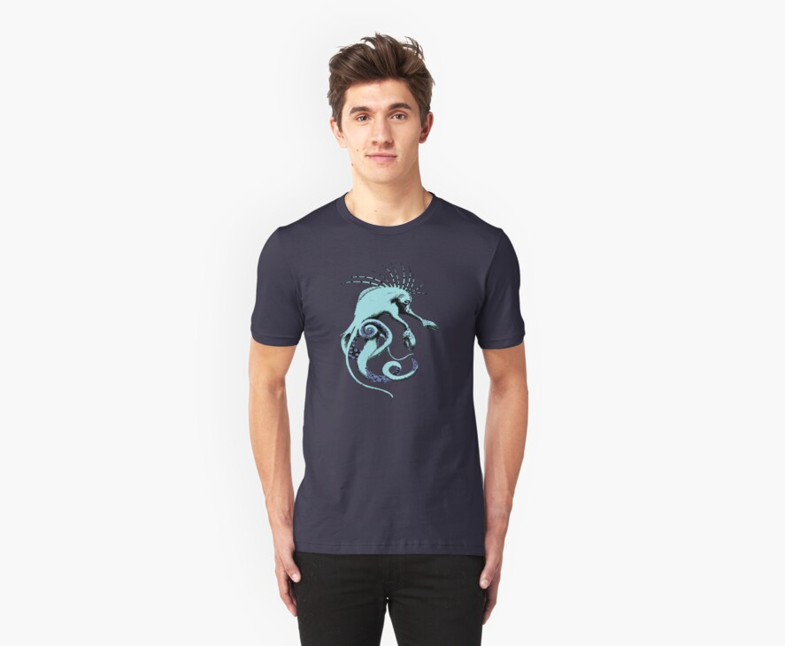 Sea Creature Tee by Neoran