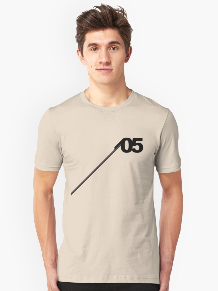 Alternate view of Number #05. Slim Fit T-Shirt
