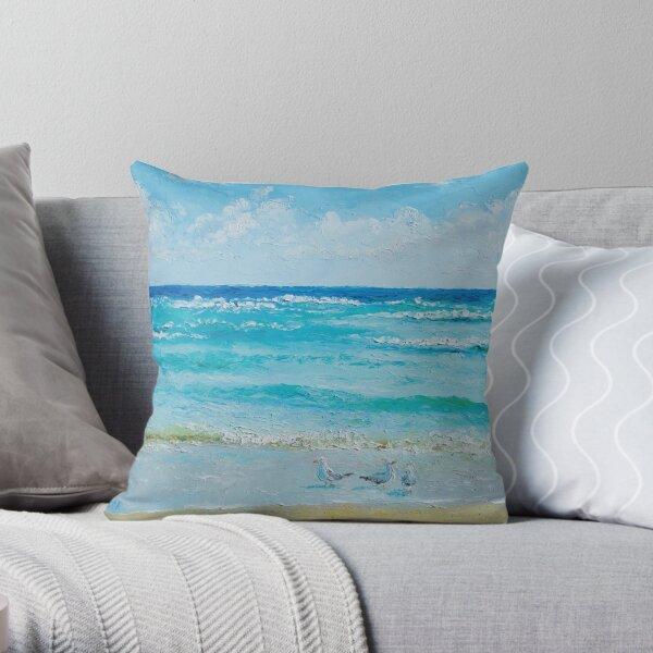 Ocean Breeze Throw Pillow