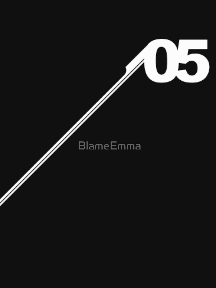 Number #05 (White). by BlameEmma
