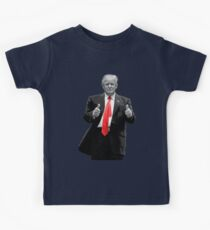 Donald Trump For President 2016 Thumbs Up Kids Tee