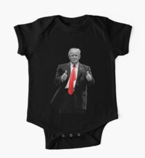 Donald Trump For President 2016 Thumbs Up One Piece - Short Sleeve