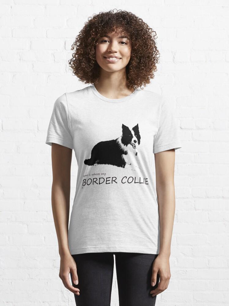 Alternative Ansicht von Border Collie Essential T-Shirt