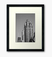 Chicago Skyscrapers Framed Print