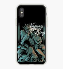 Vaping like a king iPhone Case