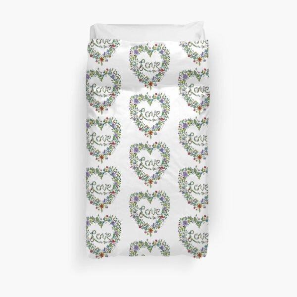 LOVE! (in full colour) Duvet Cover