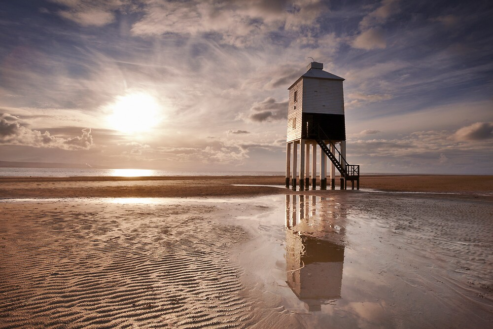 Burnham Lighthouse, Somerset by Robin Whalley