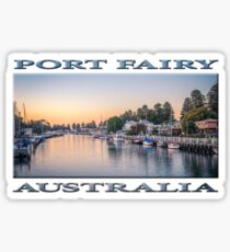 Port Fairy Sunrise Sticker