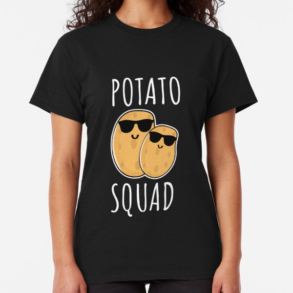 Potato squad - funny potato gift Classic T-Shirt