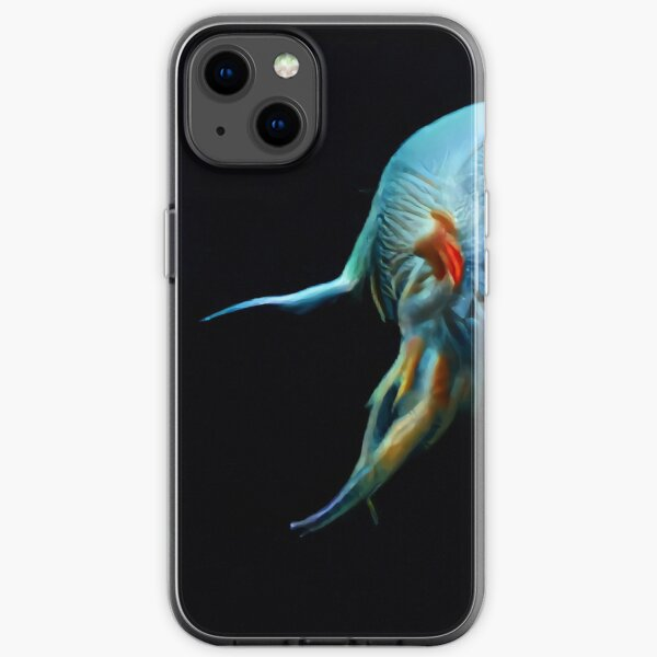 Touched By Oneness from ORGANIKA by Spaced Painter iPhone Soft Case