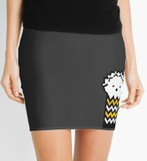 Spiky Hedgehog   Mini Skirt