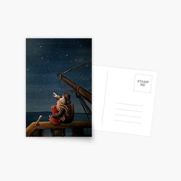 Stargazers Postcard