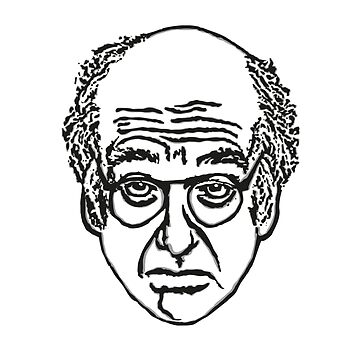 Larry David Face Leggings by averyboringname