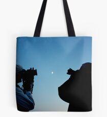 Shooting for the Moon Tote Bag
