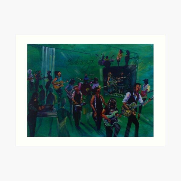 Passport to Airlie - Final Seabreeze Hotel Mackay Art Print