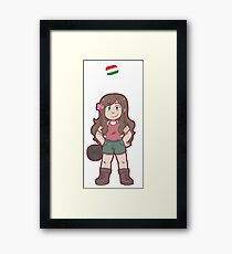 Hungary Framed Print