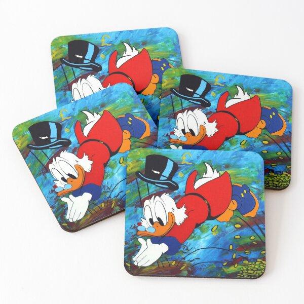 Uncle Scrooge McDuck Coasters (Set of 4)